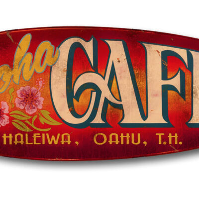 Aloha Cafe (red) by Steven Neill