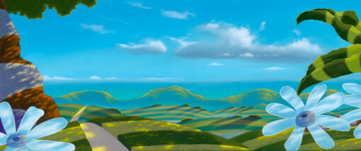 Hilltop View 10x24 by Michael Provenza