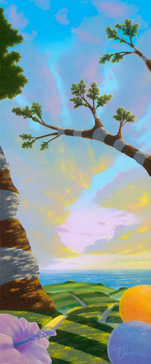 In the Spirit of Aloha 10x24 by Michael Provenza