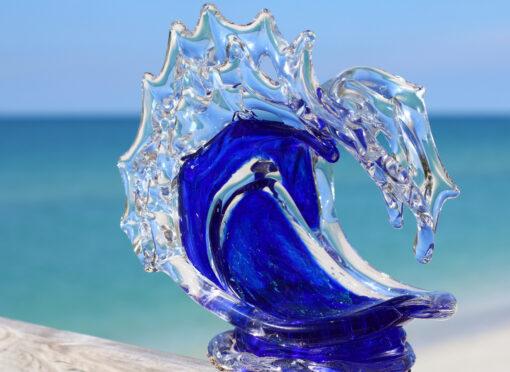 Tsunami (Cobalt) by David Wight