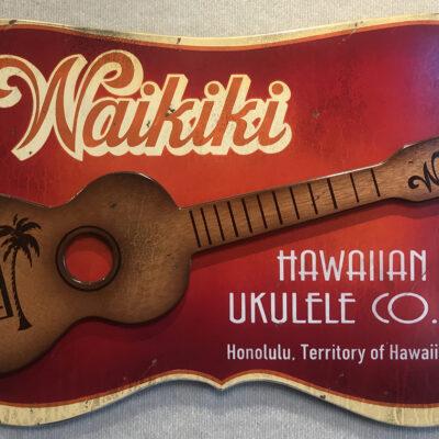 Waikiki Ukulele Co by Steven Neill