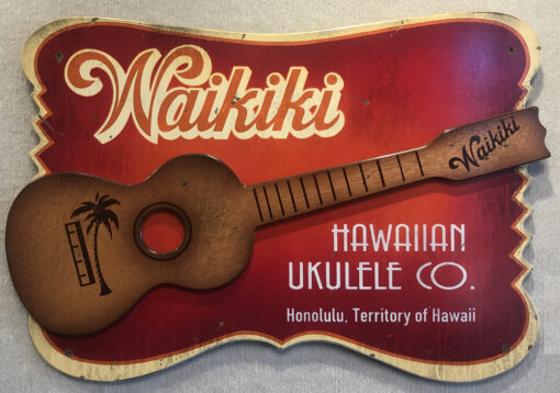 Waikiki Ukulele Co by Steven Neill