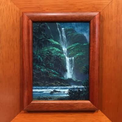 Falls At Midnight by Roy Tabora