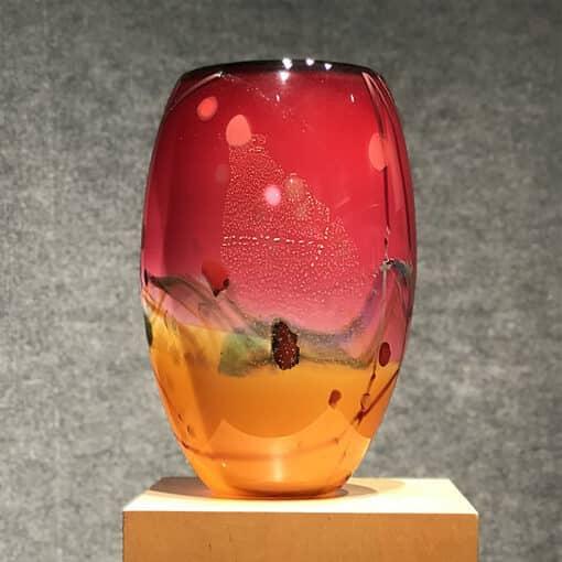 Landscape Vase Seattle Glass - view 4