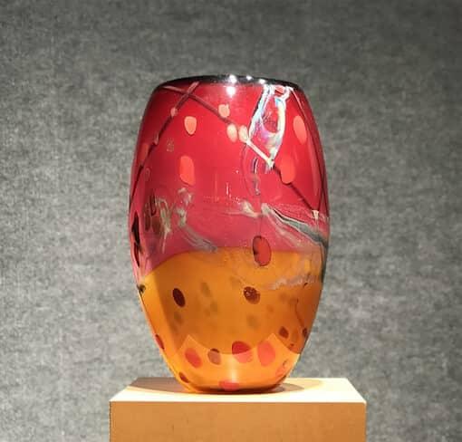Landscape Vase by Seattle Glass - View 2
