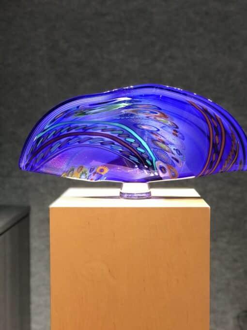 Murrini Fan by Seattle Glass - View 4