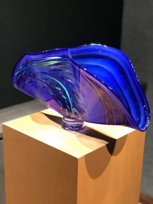 Murrini Fan by Seattle Glass - View 2