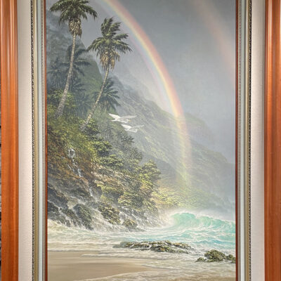 At Journey's End 36x60 by Roy Tabora
